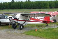N2191J @ LHD - 1960 Piper PA-18A 150, c/n: 18-7185 at Lake Hood