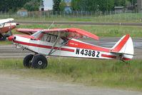 N4388Z @ LHD - 1968 Piper PA-18-150, c/n: 18-8714 at Lake Hood