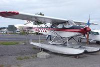 N3777Z @ LHD - 1960 Piper PA-18, c/n: 18-7459 on Lake Hood