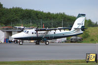 N54LM @ PANC - 1978 Dehavilland DHC-6-300, c/n: 576 DHC-6 Twin Otter based at Anchorage