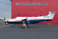 N230UH @ PANC - 1998 Pilatus PC-12/45, c/n: 230 at Anchorage