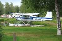 N2144Z @ LHD - 1963 Cessna 180F, c/n: 18051244 at Lake Hood