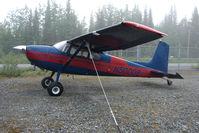 N50008 @ SXQ - 1956 Cessna 180, c/n: 32478 at Soldotna