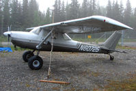 N60725 @ SXQ - Cessna 150J, c/n: 15070527 at Soldotna