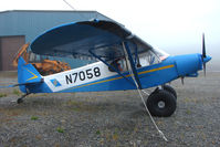 N7058 @ SXQ - 1960 Piper PA-18-150, c/n: 18-7262 at Soldotna