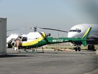 N817CE @ ONT - Parked at Edison Hanger, Ontario Airport - by Helicopterfriend