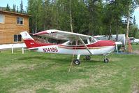 N1419S @ AK59 - 1976 Cessna 182P, c/n: 18264975 at King Skyranch