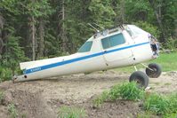 N3495V @ AK59 - 1974 Cessna 150M, c/n: 15076523 fuselage at King Ranch
