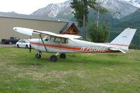 N7036E @ AK59 - 1960 Cessna 175A, c/n: 56536 at King Ranch