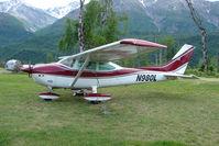 N980L @ AK59 - 1973 Cessna 182P, c/n: 18262273 at King Ranch