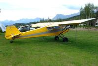 N95846 @ AK59 - 1946 Taylorcraft BC12-65, c/n: 8146 at King Ranch