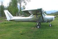 N66402 @ AK59 - 1974 Cessna 150M, c/n: 15076025 in bare metal at King Ranch