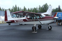 N7269E @ SXQ - 1959 Cessna 182B, c/n: 52269 at Soldotna