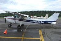 N9243H @ SXQ - 1975 Cessna 172M, c/n: 17266041 at Soldotna