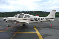 N8141Q @ SXQ - 2003 Cirrus Design Corp SR22, c/n: 0676 at Soldotna