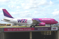 HA-LPC @ EGGW - Airbus A320-233, c/n: 0892 of Wizz at Luton UK - by Terry Fletcher