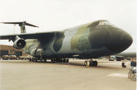 86-0021 @ MHZ - C-5B Galaxy of 60th Airlift Wing based at Travis AFB on display at the 1994 RAF Mildenhall Air Fete. - by Peter Nicholson