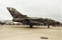 ZG725 @ MHZ - Tornado GR.1A of 13 Squadron at RAF Marham on display at the 1994 RAF Mildenhall Air Fete.  Sadly, this aircraft was lost four months later when it crashed near Cape Frasca, Sardinia. - by Peter Nicholson