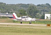 N4515P @ KDPA - FLYING W LEASING INC Piper PA23 Apache, arriving 20R KDPA. - by Mark Kalfas