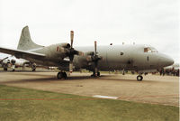 161587 @ MHZ - P-3C Orion of Patrol Squadron VP-23 on display at the 1994 RAF Mildenhall Air Fete. - by Peter Nicholson