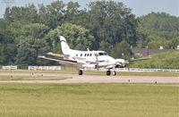 N901JS @ KDPA - SHEWMAKER AIR LLC Beechcraft King Air 90, N901JS arriving KDPA from KVBT. - by Mark Kalfas