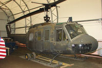 65-12849 @ LHD - Bell UH-1D Iroquois that served in Vietnam preserved at Alaska Aviation Heritage Museum at Lake Hood Anchorage
