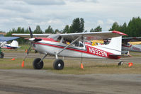 N9929N @ LHD - 1975 Cessna 180J, c/n: 18052584 at Lake Hood
