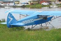 N9190D @ LHD - 1958 Piper PA-22-160, c/n: 22-6248 on Lake Hood