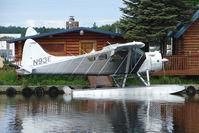 N93E @ LHD - 1956 Dehavilland DHC-2 MK. I(L20A), c/n: 1149 on Lake Hood