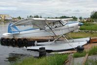 N8976D @ LHD - 1958 Piper PA-18-150, c/n: 18-6416 at Lake Hood