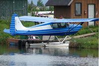 N65AT @ LHD - 1981 Arctic Aircraft Co Inc S-1B2, c/n: 1016 on Lake Hood