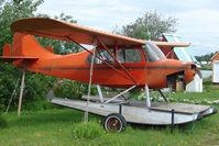 N4317C @ LHD - 1955 Champion 7EC, c/n: 7EC-318 at Lake Hood