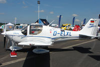 D-ELXL @ EGTB - Liberty displayed at AeroExpo 2010