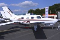 G-UDMS @ EGTB - Piper Malibu Matrix displayed at AeroExpo 2010