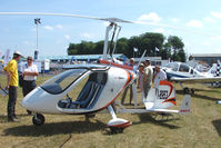 I-8953 @ EGTB - Gyro displayed at AeroExpo 2010