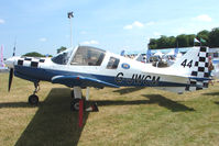G-JWCM @ EGTB - Bulldog displayed at AeroExpo 2010