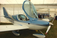 G-WOOO @ EGTB - Sportscruiser displayed at AeroExpo 2010
