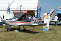 G-CGGM @ EGTB - Eurostar displayed at AeroExpo 2010