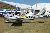 G-EVSL @ EGTB - Eurostar displayed at AeroExpo 2010