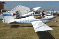 G-CBHI @ EGTB - 2001 Price B EUROPA XS, c/n: PFA 247-13245 displayed at AeroExpo 2010