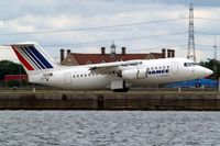 EI-RJI @ EGLC - BAe 146-RJ85 [E2346] (Cityjet) London City~G 15/06/2010. Seen departing.
