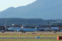 C-FFYJ @ YVR - Evening departure from YVR - by metricbolt