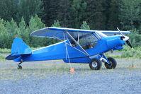 N2515A @ AQY - 1952 Piper PA-18, c/n: 18-1972 at Girdwood AK