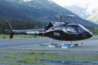 N99676 @ AQY - S.n.i.a.s. AS350D ASTAR, c/n: 1542 of Alpine Air at Girdwood AK