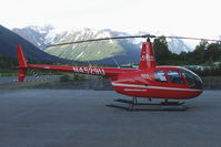 N4529U @ AQY - Robinson Helicopter Company R44 II, c/n: 12708 of Alpine Air at Girdwood AK