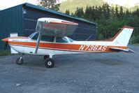N736AS @ AQY - 1977 Cessna R172K, c/n: R1722378 at Girdwood AK