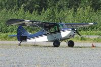N2527B @ AQY - Aeronca 7CCM, c/n: 48-507 at Girdwood AK