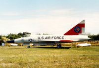 56-0986 @ PIE - F-102A Delta Dagger of the Florida Military Aviation Museum at Clearwater in November 1987 - the museum later closed and this aircraft is now with the MAPS Museum in Ohio. - by Peter Nicholson