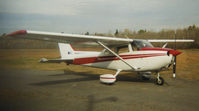 C-GUVC - C-GUVC at Bancroft, Ontario (CNW3), October 1998 - by Ian Whyte