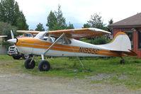 N1955C @ LHD - 1953 Cessna 170B, c/n: 26100 at Lake Hood